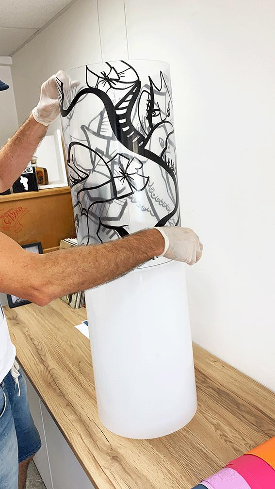 Art Box Animation Pendaison Crémaillère
