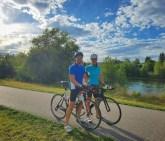 Riding in beautiful Jackson Hole!