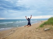 Woo Lake Michigan!