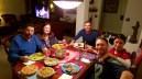 Xmas Eve dinner with Heather's fam