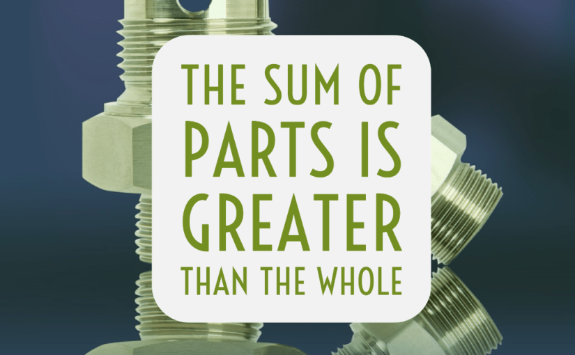 The Sum of Parts is Greater than the Whole