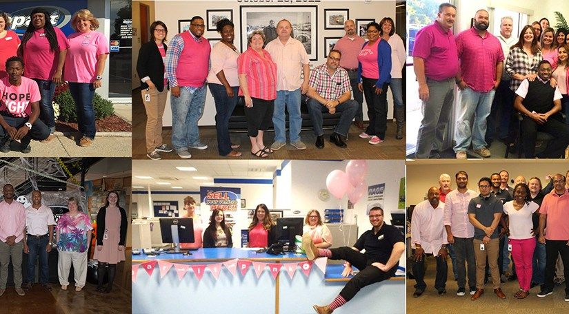 Breast Cancer Awareness Month at Copart