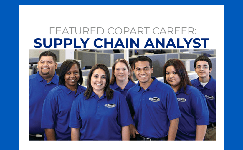 Copart Careers: Supply Chain Analyst