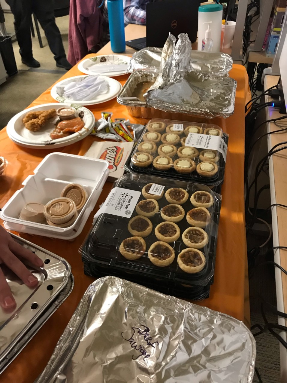 Copart Service Desk Thanksgiving Potluck!