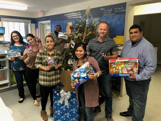 Miami South Toy Donations to Local Church