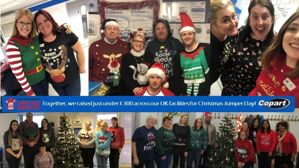 Copart UK Jumper Fundraiser