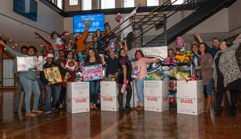 Toys for Tots HQ Contributions