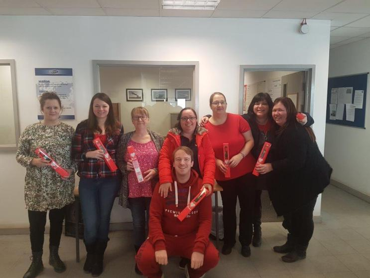 UK Wears Red for Charity