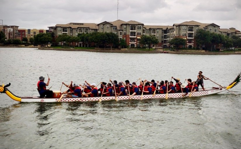 Copart Competes in Dragon Boat Race