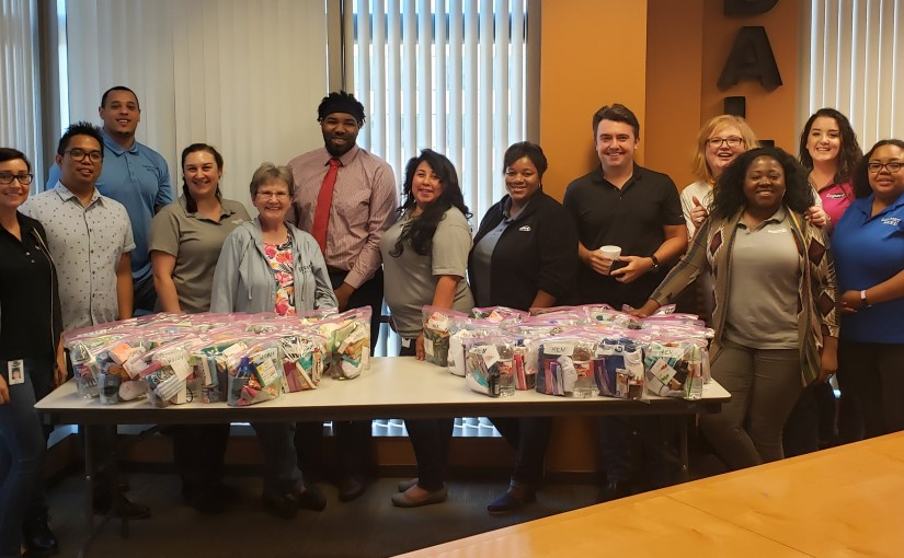 Copart Packs Care Bags for Local Homeless