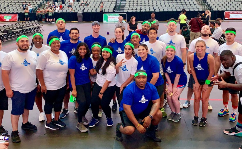 Copart Competes in Dodge for a Cause Charity Dodgeball Tournament