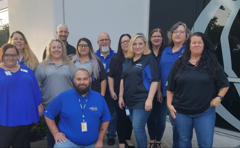 Copart Catastrophe (CAT) Team Assists at Allstate