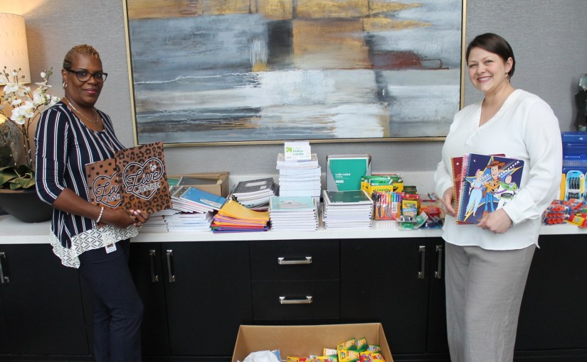 Copart HQ Collects 1,000 School Supply Donations
