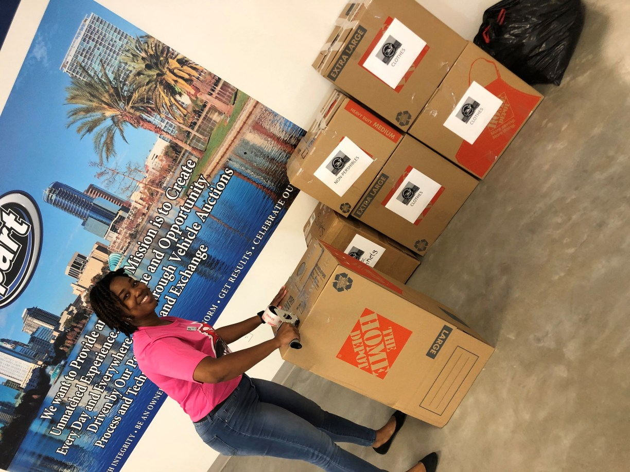 Yard 153 is preparing to ship our donation boxes to the Bahamas in hopes to help hurricane survivors recover from the unprecedented devastation of Hurricane Dorian. (1)