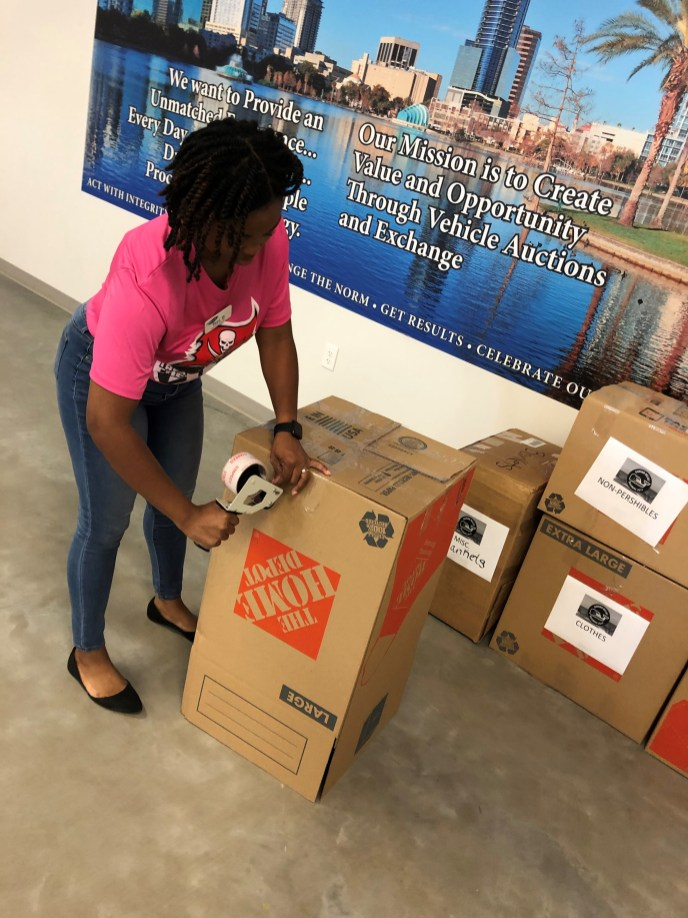 Yard 153 is preparing to ship our donation boxes to the Bahamas in hopes to help hurricane survivors recover from the unprecedented devastation of Hurricane Dorian. (2)