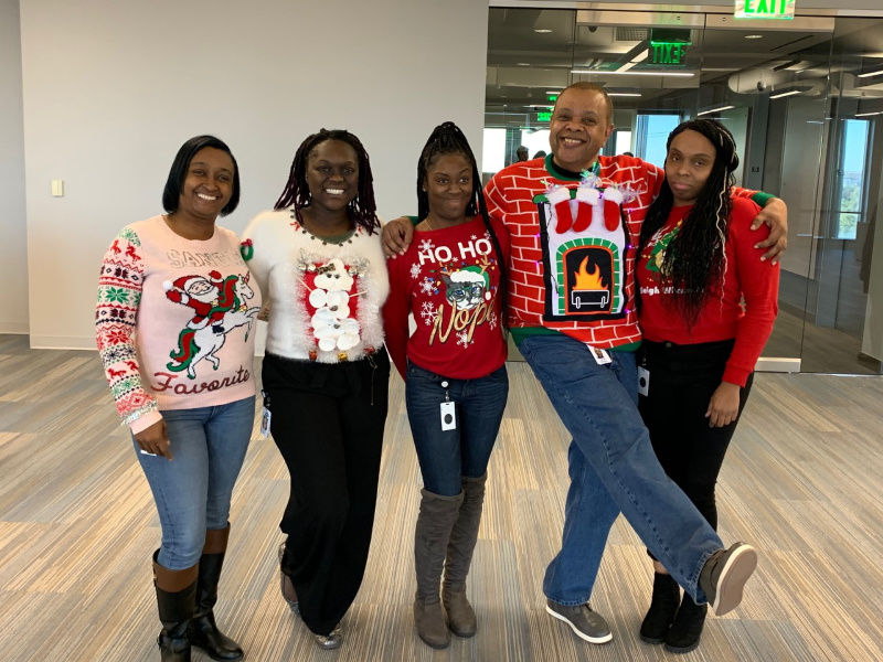 UglySweaterDay2019 Dallas TP