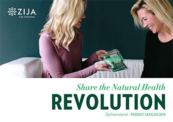 Zija International Product Catalogue 2018