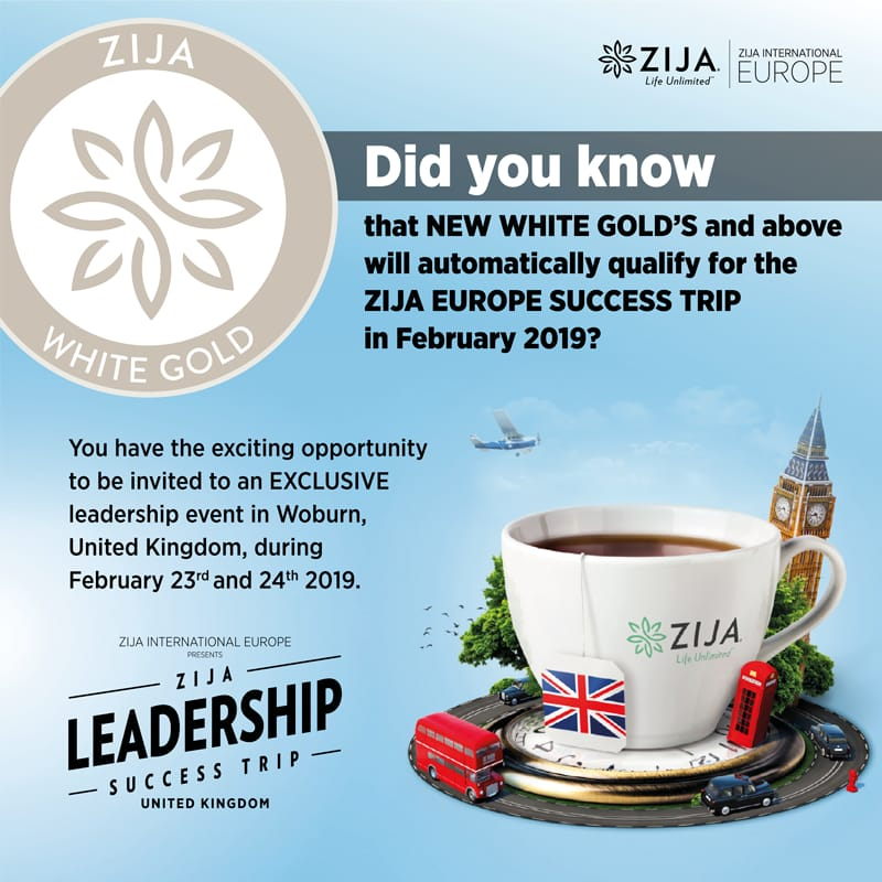 Zija European Success Trip 2019
