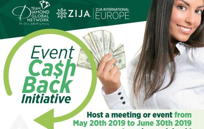 European Event Cash Back Initiative