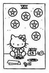 Hello Kitty Tarot