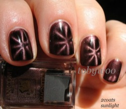 Le Magnetique fingernail polish