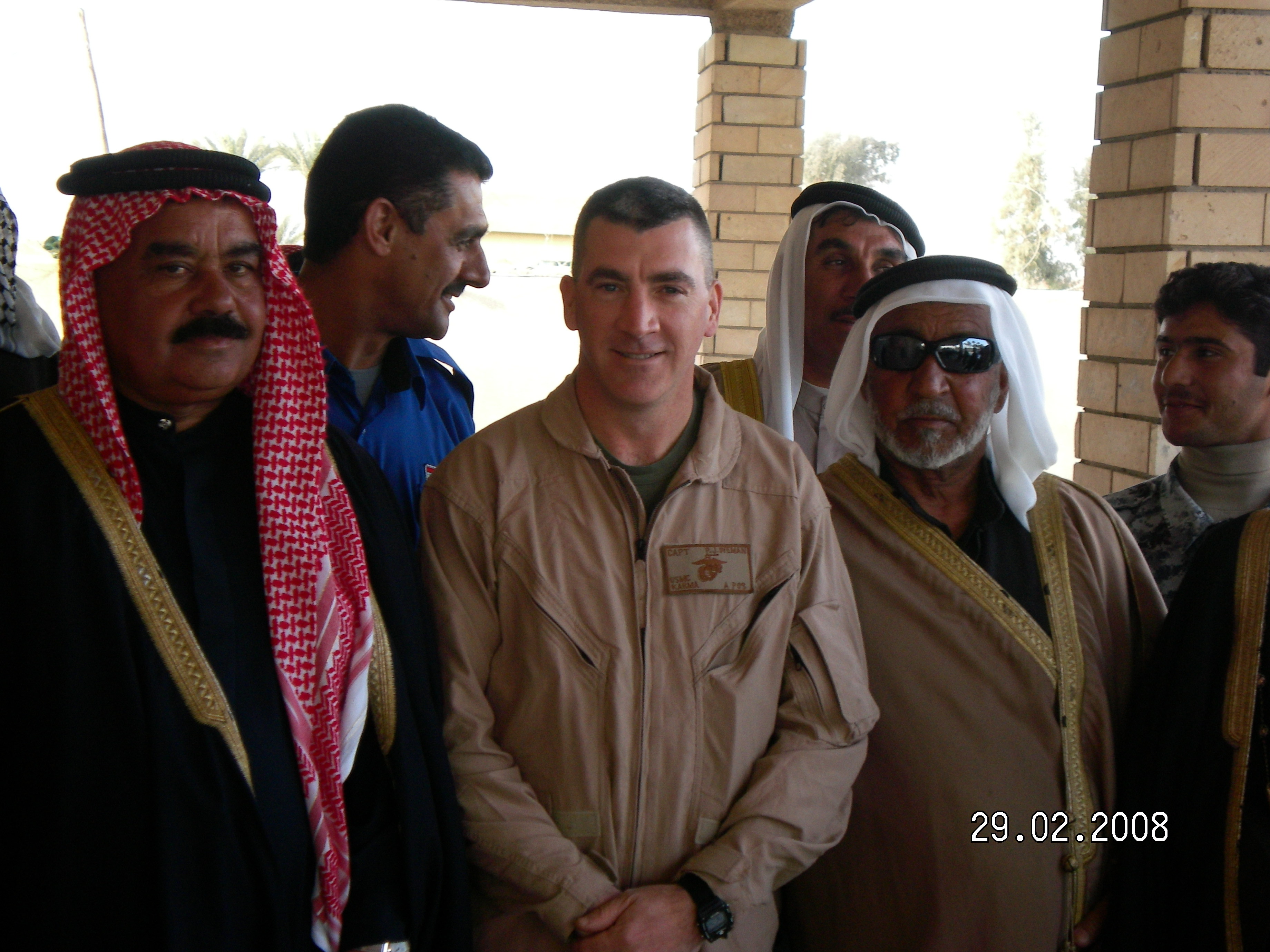 Phil at work in Anbar