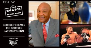 George Foreman and Joe Goossen both appeared on talk box and spoke on the Spence-Garcia win.