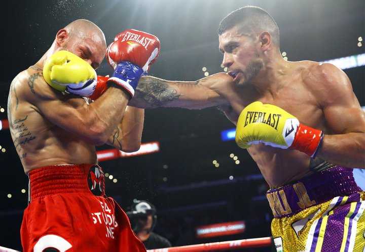 Blowout Wins for Lomachenko, Barboza and Colbert