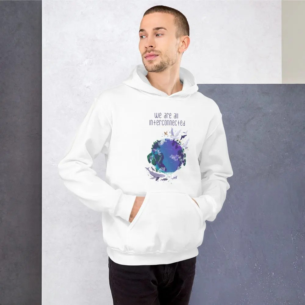 Unisex Hoodie: We Are All Connected