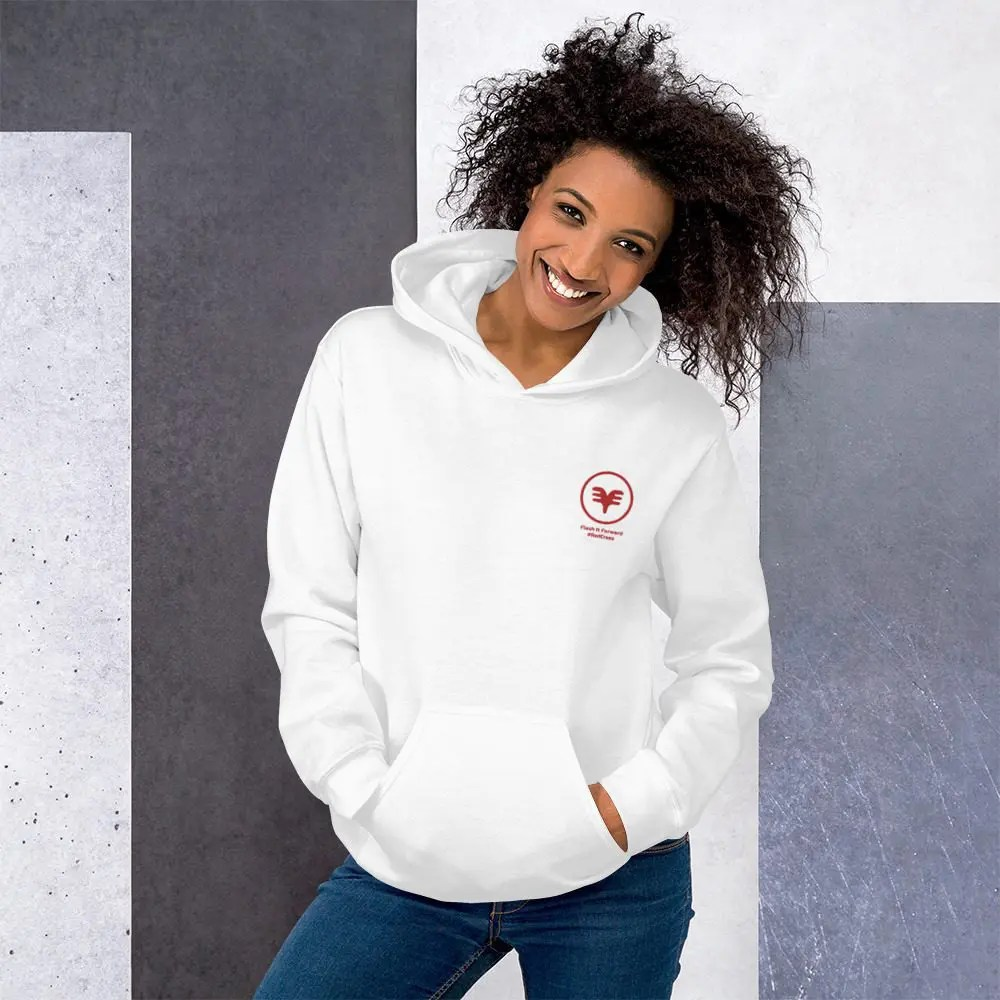 Unisex Hoodie: Flash It Forward