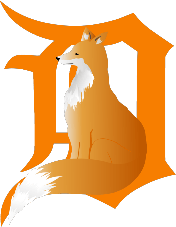 fox in d png logo