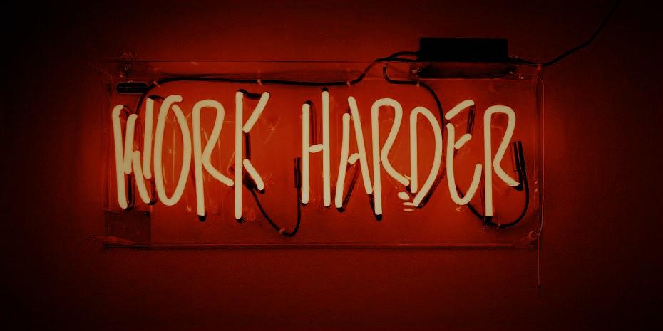 Dojo1 Work Harder