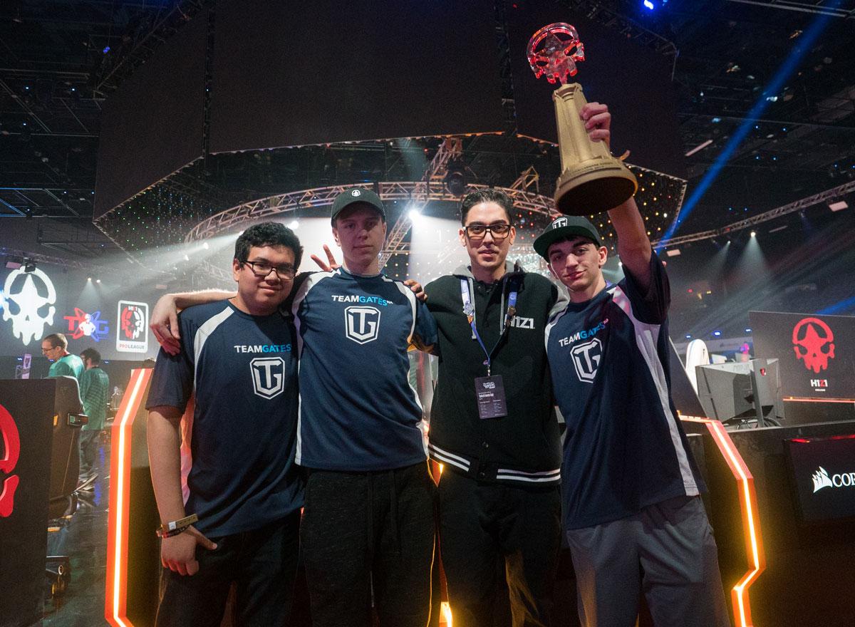 H1Z1 TeamGates winners