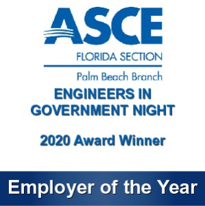 GFA Receives Employer of the Year Award from ASCE Palm Beach