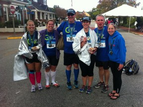 New marathoners!