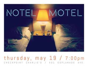 Notel Motel Flyer