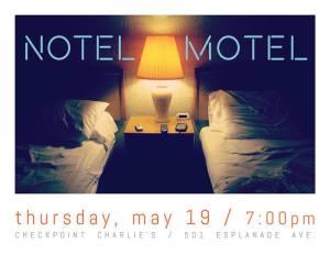 Notel Motel Flyer