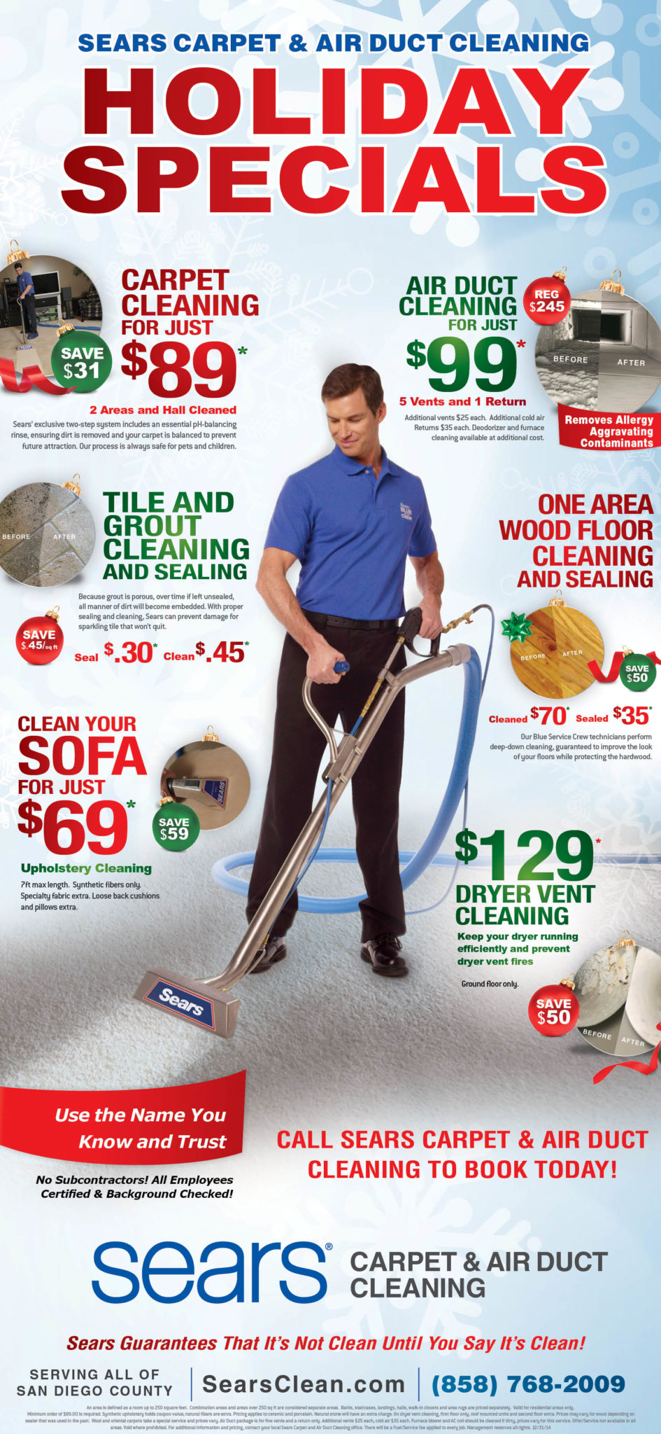 sears carpet cleaning ut ad