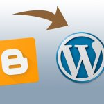 transfer blogger wordpress