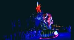 mickey light show