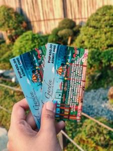 The Garden Travel DIY ticket price