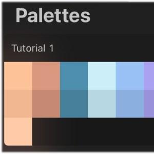 free procreate palette
