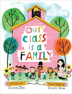 Picture of the cover for the book Our Class is a Family