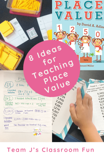 Pin image for 8 Ideas for Teaching Place Value