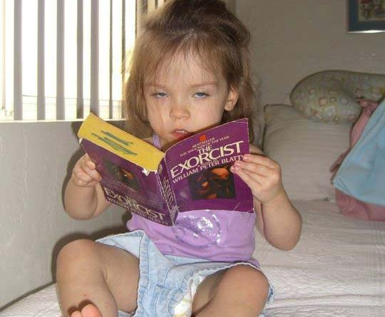 Bad Family Photos: She done gots the smart gene! 1