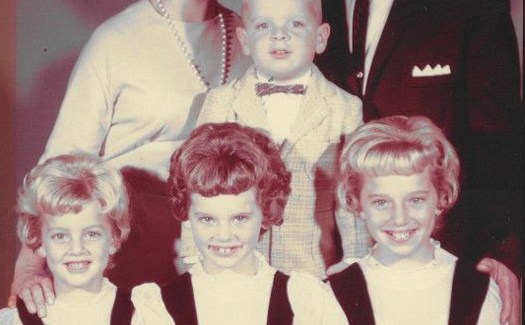 Funny Family Portrait 1950s - Awkward Family Photos. Strange & Crazy