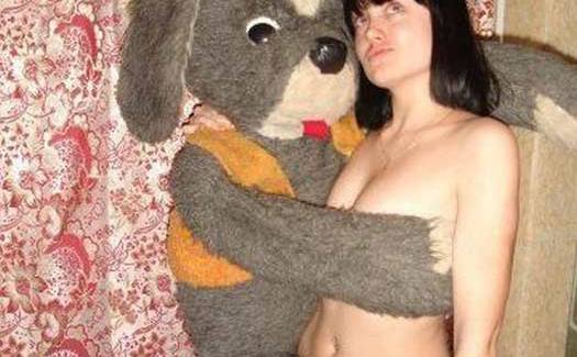 Bad Facebook Profile Pic – Naked Woman Teddy Bear