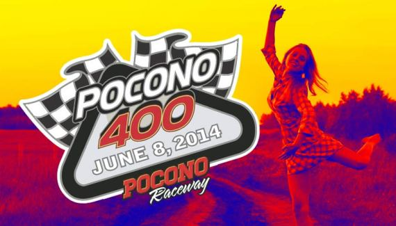 Pocono 400 Preview 2014 - Jimmy Joe's NASCAR Update - The Pocono Song