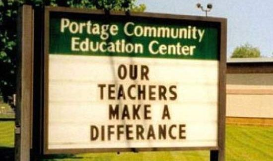 31 of the Funniest School Signs