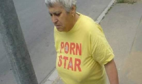 Grandma Porn Star ~ Old People in Bad Ass T shirts